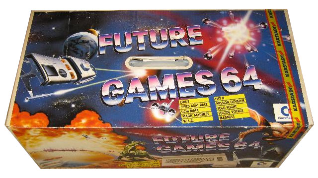 Future Games 64 Verpackung