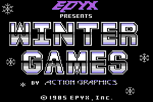 Titelbild von Winter Games