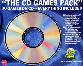The CD Games Pack: 30 Games on CD