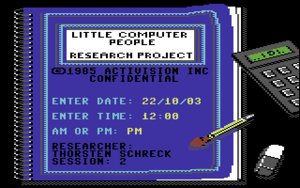 Titelbild von Little Computer People