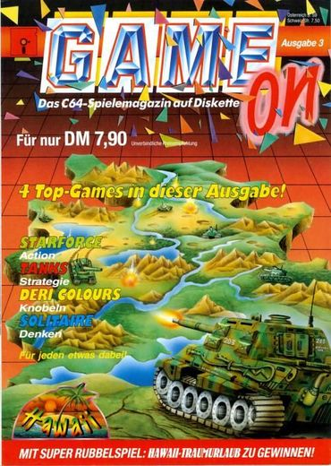 Cover der Game On (1991-03)