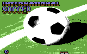 Titelbild des Rerelease (CRL) von International Soccer