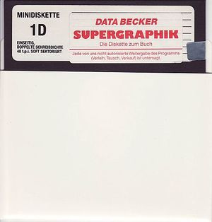 Supergrafik-Diskette