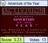Adventure of the Year
