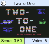 Two-to-One
