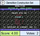 Demolition Construction Set