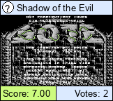 Shadow of the Evil